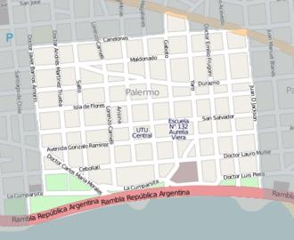 Palermo, Montevideo - Image: Palermo, Montevideo