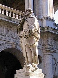 Monumento ad Andrea Palladio, sito nella piazzetta omonima a fianco della Basilica