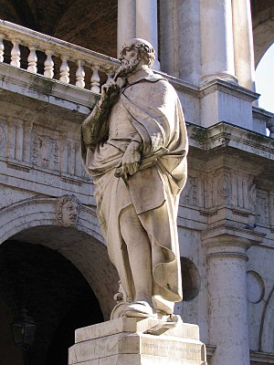 Statue of Palladio in Vicenza