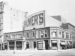 Photo of Palmer's Theatre in 1892