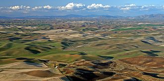 Rangeland - Image: Palouse from Steptoe Butte