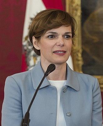 Pamela Rendi-Wagner - Image: Pamela Rendi Wagner