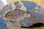 Pannello decorativo in vetro con pesci (orata, sgombro e delfino), 200-250 ca. 02.JPG