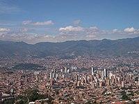 Medellín. Panorámica de la Ciudad.