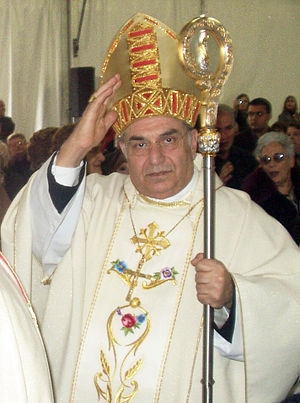 Mgr Paolo Romeo as archbishop of Palermo