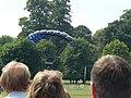Parachutist landing in Wollaton Park - geograph.org.uk - 1381590.jpg