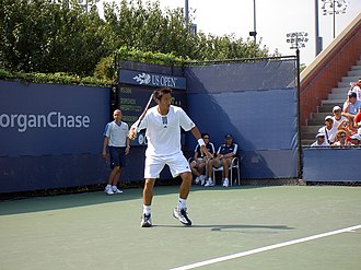Paradorn Srichaphan - Image: Paradorn Srichaphan US Open 2004