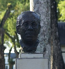 bust of Eddy Snijders