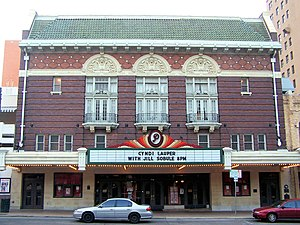 Paramount Theatre (Austin, Texas) - Entrance to venue (c.2006)