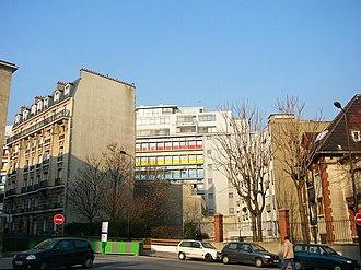 Cité de Refuge - Partial view of the facade, post 1952.