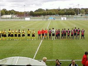 Ilan Boccara - Ilan Boccara (4th from right) with PSG II (2011).