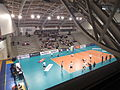 Paris Volley Resovia, 24 October 2013 - 01 - Salle Charpy vue du haut.JPG