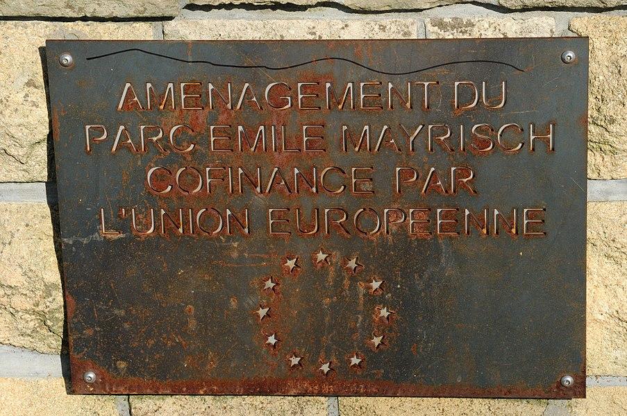 Park Émile Mayrisch zu Diddeleng.