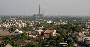 Parli, Maharashtra - Image: Parli Vaijnath Town in AP W IMG 7922