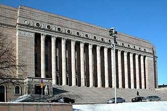 Stripped Classicism - Image: Parliament building Finland