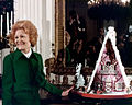 Pat Nixon first White House gingerbread house 1972.jpg