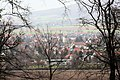 Pattensen, Schloss Marienburg, Blick auf Nordstemmen.JPG