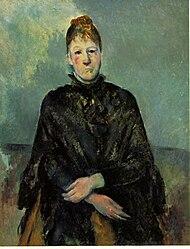 Paul Cézanne: Madame Cézanne (Portrait de Madame Cézanne)