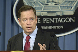 Paul McHale - McHale briefing at The Pentagon during the October 2007 California wildfires