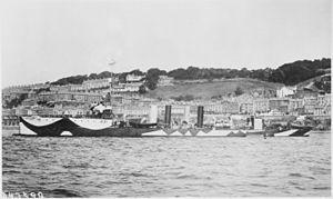 Paulding-class destroyer - Image: Paulding (DD22). Starboard side, camouflaged, 1918 NARA 530782