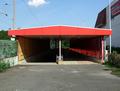Pedestrian underpass of Cottbus-Willmersdorf Nord.png