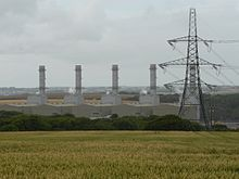 View of power Station