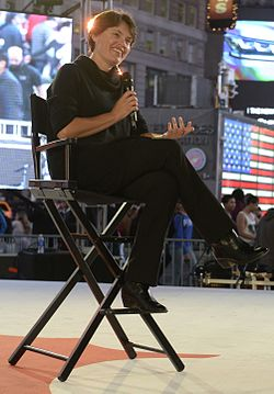 Penelope Heyns at Save the Dream event in Times Square, New York.jpg