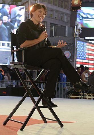 Penelope Heyns - Penelope Heyns in Times Square, New York (2015)