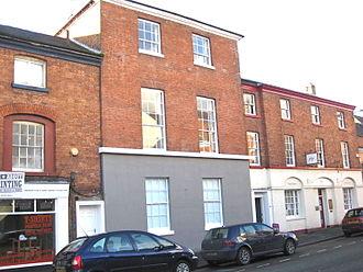 Thomas Penson - Penson's Chambers, Willow Street, Oswestry