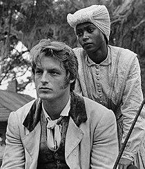 Perry King and Brenda Sykes 1975.jpg