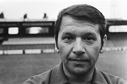 Ivic shortly after taking over as the new coach of Ajax in July 1976 Persdag bij Ajax, nieuwe trainer Ivic, Bestanddeelnr 928-6992.jpg