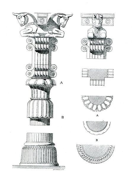 پرونده:Persepolis Colonne flandin.jpg