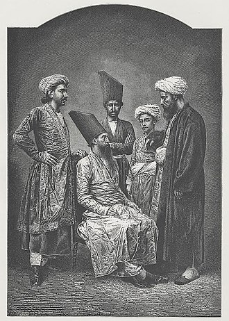 "Parsi - ""Parsis of Bombay"" a wood engraving, ca. 1878"