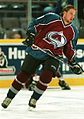Peter Forsberg in a Colorado Avalanche jersey Flickr-257172110-original cropped.jpg