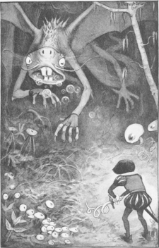 Peter Newell - Through the looking glass and what Alice found there 1902 - page 20
