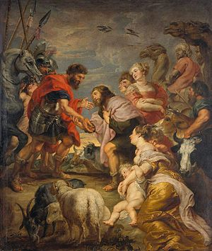 The Reconciliation of Esau and Jacob - Image: Peter Paul Rubens 185