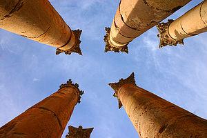 Temple of Artemis, Jerash - Image: Petra 3 by spock 1