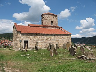 Novi Pazar - Church of the Apostles Peter and Paul from the 9th century