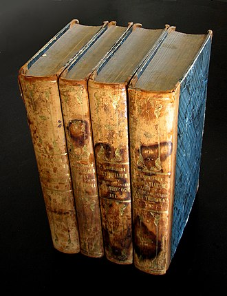 Sentences - An 1841 Latin edition of the Sentences bound together with Aquinas' Summa Theologica.