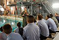 Petty Officer 1st Class Grayson Taylor discusses survival training Sailors must go through to the U.S. Naval Sea Cadet Corps.jpg