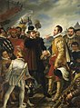Philip II of Spain berating William the Silent Prince of Orange by Cornelis Kruseman.jpg