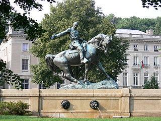 Equestrian statue of Philip Sheridan