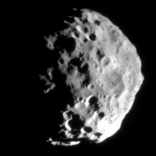 Cassini image of Phoebe