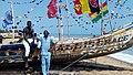 Photo retrouvailles annuelles des pêcheurs sur la plage de de oui au Bénin.jpg