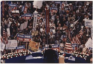 1980 Republican National Convention - Ronald Reagan giving his Acceptance Speech