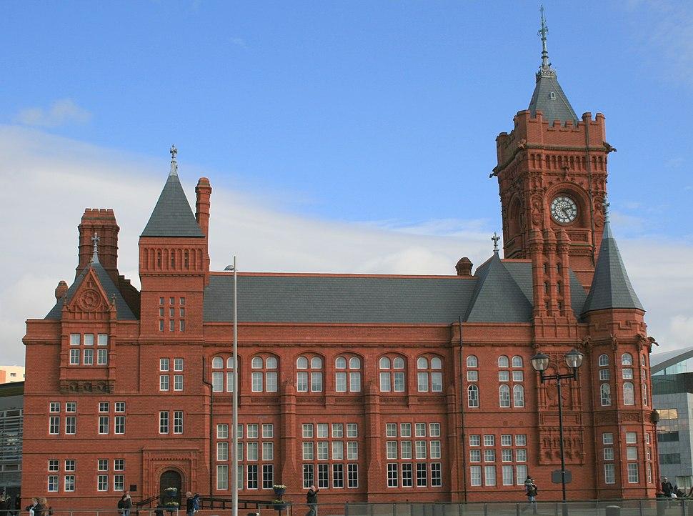 Pierhead building-Cardiff Bay