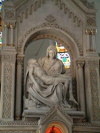 Replicas of Michelangelo's Pietà - Replica in Poznań, Poland
