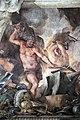 Pietro da cortona, Trionfo della Divina Provvidenza, 1632-39, Pace in trono, fucina di vulcano e tempio di giano 03.JPG