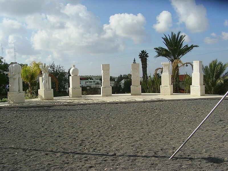 אתר הנצחה באלקנה-שבעת המינים