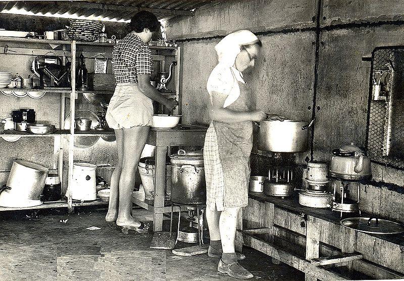 המטבח בגעתון בלול הישן